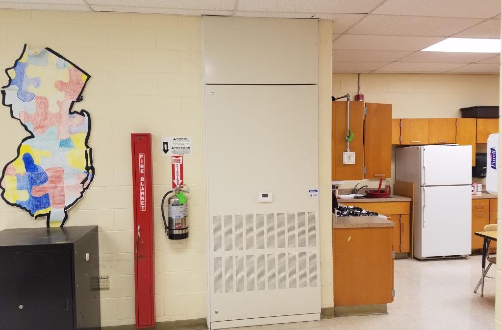 Washington Twp. Air Conditioning/Heat Pumps Units for 9/10 High School