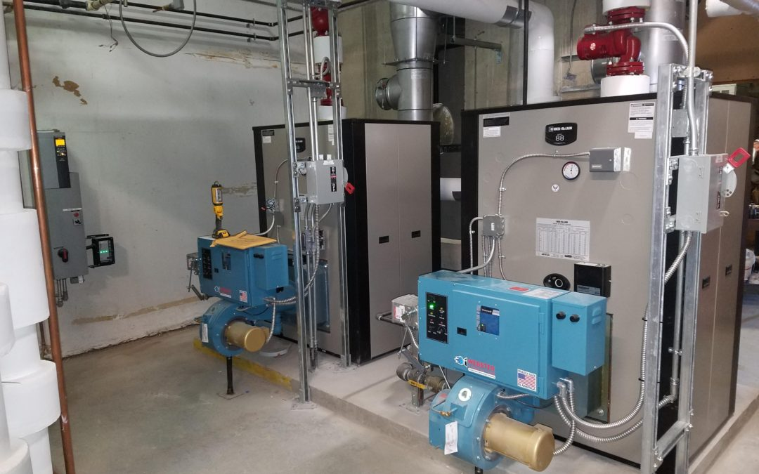 Boiler Replacement in 900 King Street Building